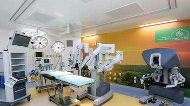 Bloco Cirúrgico com ênfase em Cirurgia Robótica