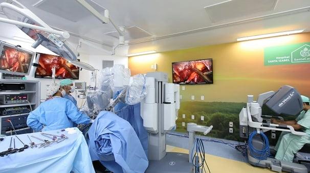 Santa Izabel é o primeiro hospital da Bahia a realizar cirurgia robótica